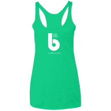 Load image into Gallery viewer, The Best You NL6733 Ladies' Triblend Racerback Tank