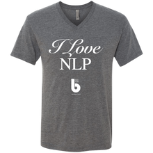 Load image into Gallery viewer, Love NLP  Men's Triblend V-Neck T-Shirt