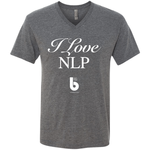 Love NLP  Men's Triblend V-Neck T-Shirt