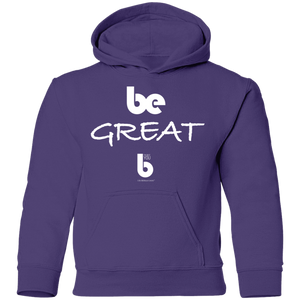 Be Great Youth Pullover Hoodie