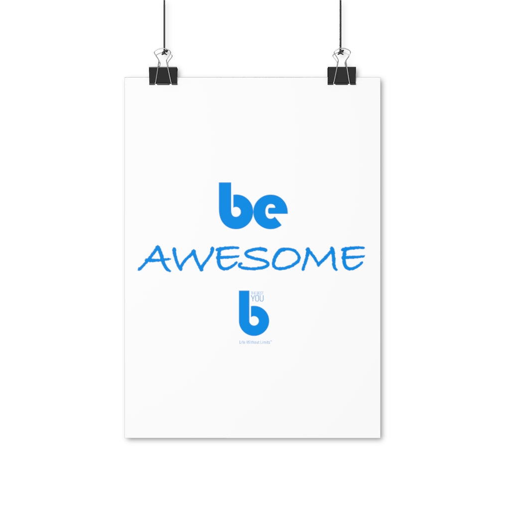 Be Awesome Poster (EU)