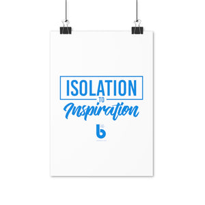 Isolation to Inspiration Poster (EU)