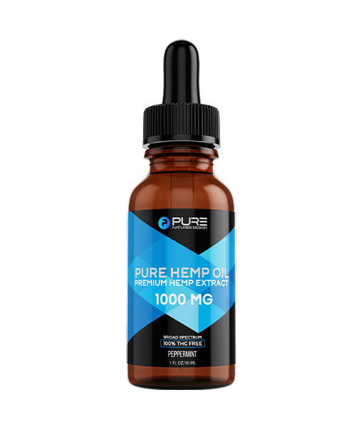 Pure Hemp Oil<BR>1000mg<BR/>