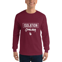 Load image into Gallery viewer, Isolation to Growing Men's Long Sleeve Shirt