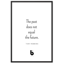 Load image into Gallery viewer, Tony Robbins Quote - Framed matte paper poster