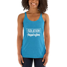 Load image into Gallery viewer, Isolation reinvention- Women's Racerback Tank