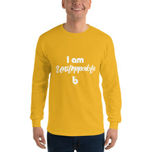Load image into Gallery viewer, I am unstoppable Men's Long Sleeve Shirt