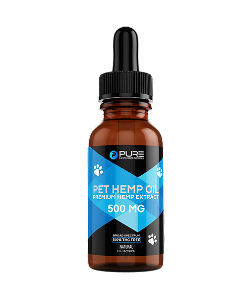 Pet Hemp Oil<BR>500mg<BR/>