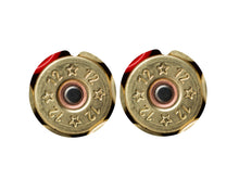 Load image into Gallery viewer, Shotgun Shell 12 Gauge Ceramic Car Coasters, Set of 2, Bullet Car Coaster, Sandstone Car Coaster, Car Coasters for Men, Hunting Coaster