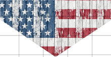 Load image into Gallery viewer, Patriotic Flag Dog Bandana Over the Collar, Personalized, Includes Collar, Custom Pet Bandana, Pet Scarf, New Pet Owner Gift, Choose Size
