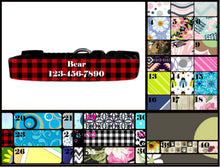 Load image into Gallery viewer, Personalized Dog Collar, Custom Pet Collar, Personalized Pet Collar, Custom Dog Collar, Gift for Pet Owner, New Dog Owner, Dog Gift, Dog Mom