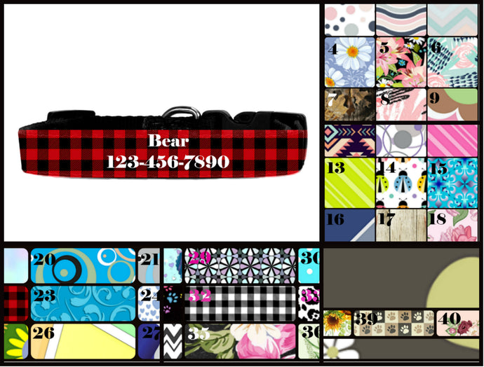 Personalized Dog Collar, Custom Pet Collar, Personalized Pet Collar, Custom Dog Collar, Gift for Pet Owner, New Dog Owner, Dog Gift, Dog Mom