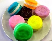 Load image into Gallery viewer, French Macaron Soap - Macaron Soap, Wedding Soap Favors, Party Favors, Kids Soap - Free U.S. Shipping - French Soap, Dessert Soap, Cake Soap