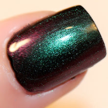 Load image into Gallery viewer, Free U.S. Shipping - Multichrome (Caribbean Sea) Multi-Color Shifting Polish: Custom-Blended Glitter Nail Polish / Indie Lacquer