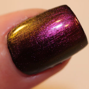 Multichrome Multi-Color Shifting Polish: Custom-Blended Glitter Nail Polish / Indie Lacquer - Island Breeze - FREE U.S. SHIPPING