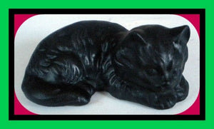 Cat Soap - Kitten - Pet Owner Gift - Vet Gift - Pet Sitter - 3-D Soap - Free U.S. Shipping - Stocking Stuffer - Animal