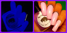 Load image into Gallery viewer, Glow-in-the-Dark Nail Polish - Lavender Glows Purple - PLUTO - Custom Blended Nail Polish - FREE U.S. SHIPPING