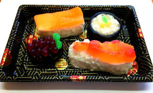 Sushi Soap Set - Food Soap, Gag Gift - Funny Gift - Shrimp - FEATURED in HUFFINGTON POST 2018 - Salmon Roll, Fake Food Soap, Sashim, Nigirii