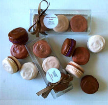 Load image into Gallery viewer, French Macaron Soap Gift Set of 3 - Coffee Lover, Pumpkin Spice, Raspberry Truffle - Cake Soap - Gift for Her - Grandmother - Friend Gift