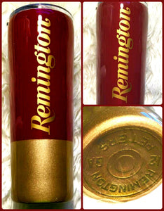 Shotgun Shell Bullet Inspired Tumbler - Hunter, Hunting, Gun Gift, Dad Gift - Gift for Man - Insulated - Gift for Dad - Cup - 20 oz