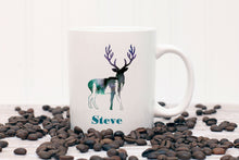 Load image into Gallery viewer, Elk Personalized Mug - Gift for Hunter, Outdoorsman, Deer Gift, Animal Mug, Camp Cup, Gift for Man, Gift for Dad, Grandpa, Coffee Mug