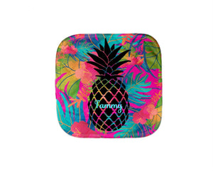Pineapple Oven Mitt Pot Holder Gift Set Personalized Oven Mitts Gifts for Mom Decor Dining Housewarming Hostess Gift Custom Kitchen Set