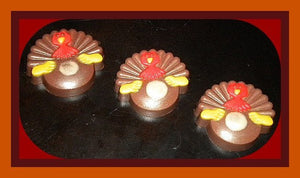 Thanksgiving Turkey Soap - Fall - Autumn Holiday - Free U.S. Shipping - Vanilla Hazelnut - FREE SHIPPING - Fall Gift - Gift For Woman