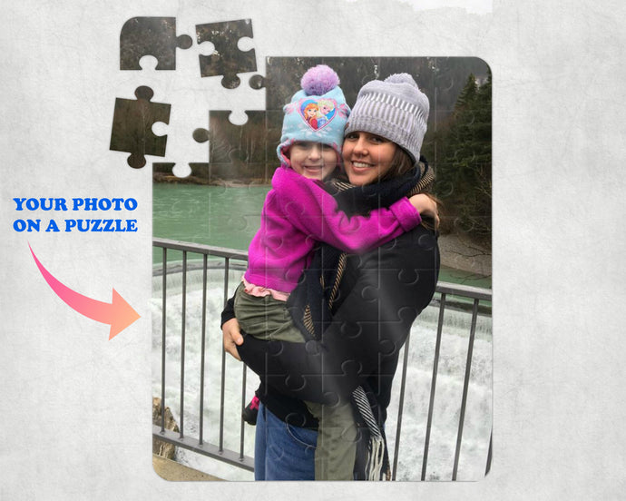 Custom Photo Puzzle - Personalized Photo Puzzle - Picture Jigsaw Puzzle - Photo Puzzle - Custom Photo Gift - Photo Gift - 48 Pieces - 8
