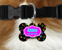 Load image into Gallery viewer, Custom Single-sided Dog Tag Personalized Pet Tag Personalized Dog Tag Custom Dog Tag Custom Pet Tag Single Sided Dog Tag Dog Tags for Dogs