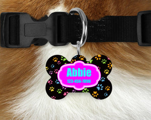 Custom Single-sided Dog Tag Personalized Pet Tag Personalized Dog Tag Custom Dog Tag Custom Pet Tag Single Sided Dog Tag Dog Tags for Dogs