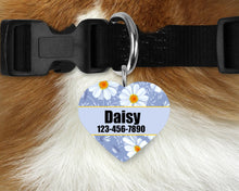 Load image into Gallery viewer, Custom Heart Single-sided Dog Tag Personalized Heart Pet Tag Dog Tag Custom Dog Tag Custom Pet Tag Single Sided Dog Tag Dog Tags for Dogs