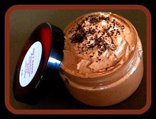 Load image into Gallery viewer, Foaming Bath Butter Whipped Soap - Soap in a Jar - Mocha Latte Coffee - FREE U.S. SHIPPING - Secret Santa Gift - Daughter Gift - 4 oz