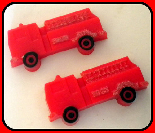 Soap - Fire Truck - Fireman - Truck- Party Favors - Soap for Boys - Men - Free U.S. Shipping