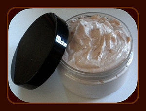 Gift for Mom - Foaming Bath Butter Whipped Soap - Soap in a Jar -  Warm Vanilla Sugar - FREE U.S. SHIPPING - 4 oz - Gift for Mom