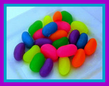 Load image into Gallery viewer, Soap - Jelly Beans - Easter Soaps - Set of 24 - Neon Colors
