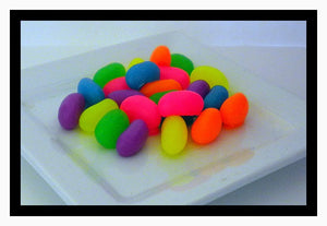 Soap - Jelly Beans - Easter Soaps - Set of 24 - Neon Colors