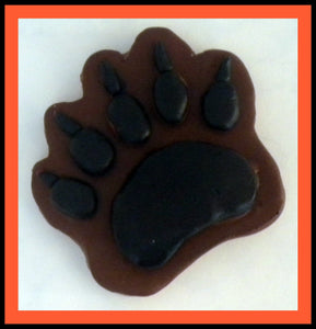 Soap - Bear Paw Print - Bear - Paw Print - Cabin - Gift for Men - Hunting - Free U.S. Shipping - Camping - Northwoods Decor