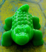 Load image into Gallery viewer, Soap - Alligator - Crocodile - Party Favors - Birthdays - Free U.S. Shipping - Soap for Kids - You Choose Scent and Color