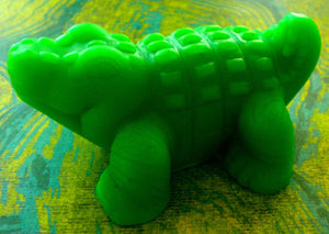 Soap - Alligator - Crocodile - Party Favors - Birthdays - Free U.S. Shipping - Soap for Kids - You Choose Scent and Color