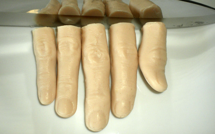Soap - Finger Soap - Free Shipping - Gag Gift - Finger - Fingers - Party Favors - Severed Finger Soap - Set of 5