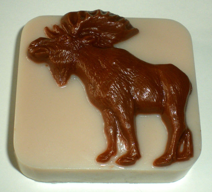 Moose Soap - Your Choice of Fragrance - Gift for Man - Hunter - Lodge - Free U.S. Shipping -
