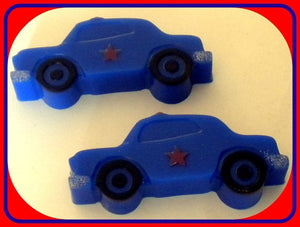 Soap - Police Car - Cop - You Choose Scent - Party Favors - Free U.S. Shipping - Gift for Men, Dad, Boys