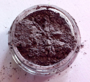 "Smoky Purple Shimmer Eye Shadow - ""Plum"" -  Mineral Makeup - Eyeshadow -Free U.S. Shipping"