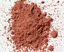 "Load image into Gallery viewer, Mineral Eye Shadow - Copper/Dark Peach Shimmer Eye Shadow - Free U.S. Shipping - ""FLAME"" - Mineral Makeup - Eyeshadow"