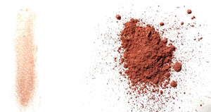 "Mineral Eye Shadow - Copper/Dark Peach Shimmer Eye Shadow - Free U.S. Shipping - ""FLAME"" - Mineral Makeup - Eyeshadow"