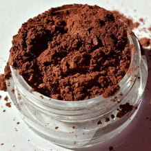 "Load image into Gallery viewer, Brown Eye Shadow - Shimmer - ""Sienna"" - Mineral Makeup - Eyeshadow - Free U.S. Shipping"