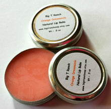 Load image into Gallery viewer, All Natural Lip Balm - Orange Dreamsicle- Tin - Gift for Teen Girls - Free U.S. Shipping