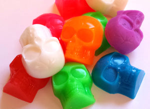 Halloween Skull Soap - Skulls - Fall, Autumn, Scary Soap for Kids - Party Favors - Soap for Kids - Skeleton - 3-D - 8 soaps