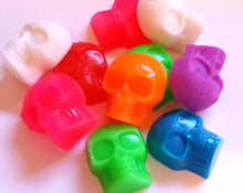 Load image into Gallery viewer, Halloween Skull Soap - Skulls - Fall, Autumn, Scary Soap for Kids - Party Favors - Soap for Kids - Skeleton - 3-D - 8 soaps