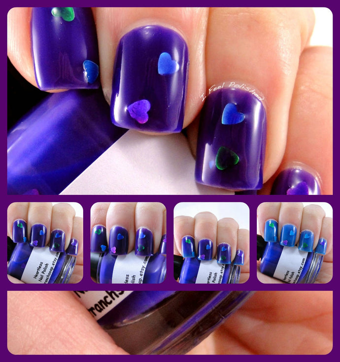 Nail Polish - Thermal Nail Polish - Color Changing Nail Polish - FREE U.S. SHIPPING -